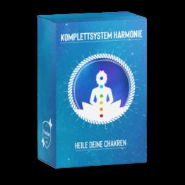 Komplettsystem Harmonie, Chakren heilen, Blockaden auflösen, Harmonisierung der Chakren, Chakren öffnen