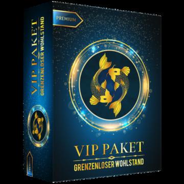VIP-Paket: Grenzenloser Wohlstand,Money-Mindset, Geldmagnet, Wohlstand anziehen, Reichtum